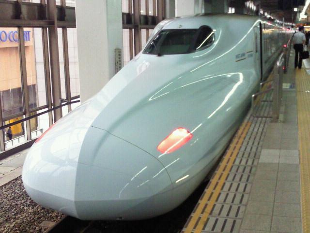 九州新幹線に乗ります