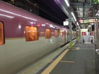 「旅の終わりは個室車両車」with iPhone5(サンライズ出雲)