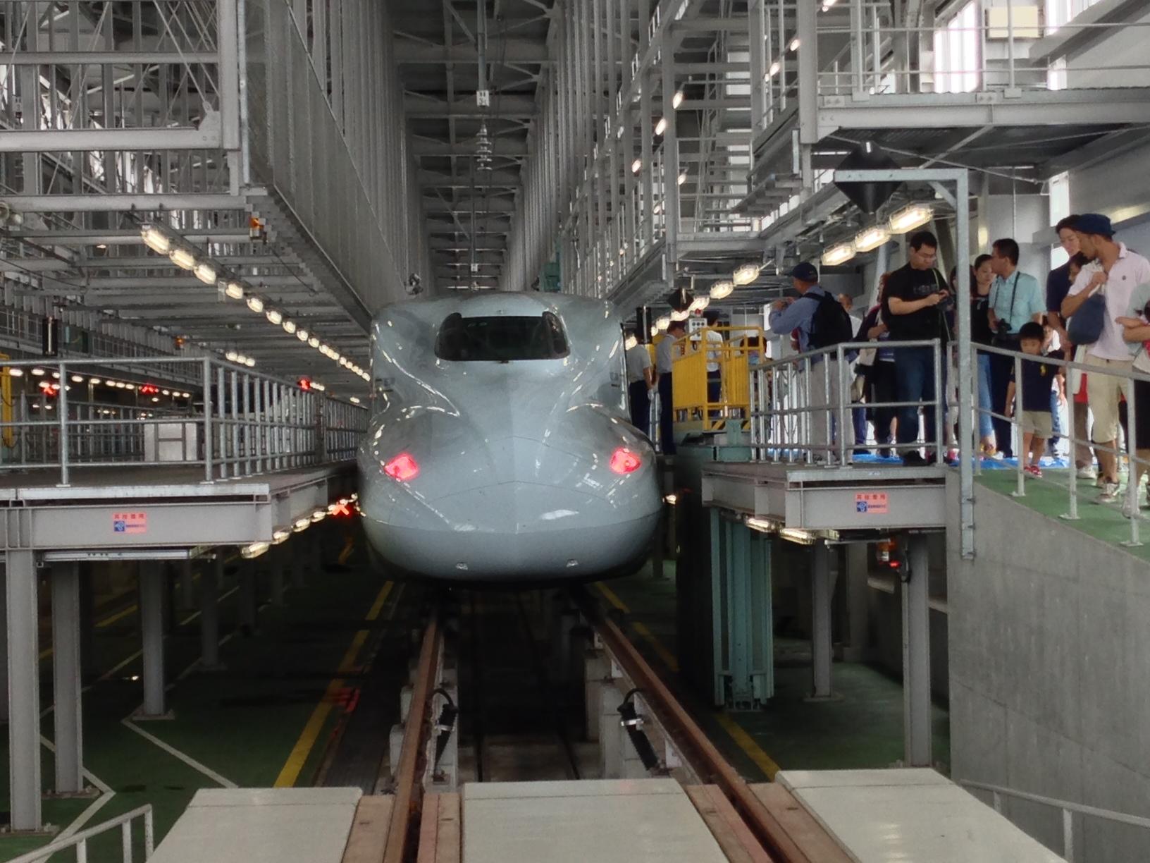新幹線フェスタ2012in熊本(会場行き臨時列車)