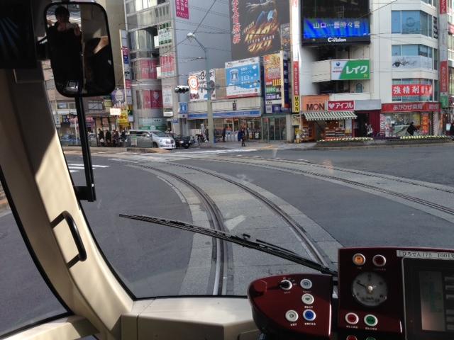 広島市電白島線乗車しました