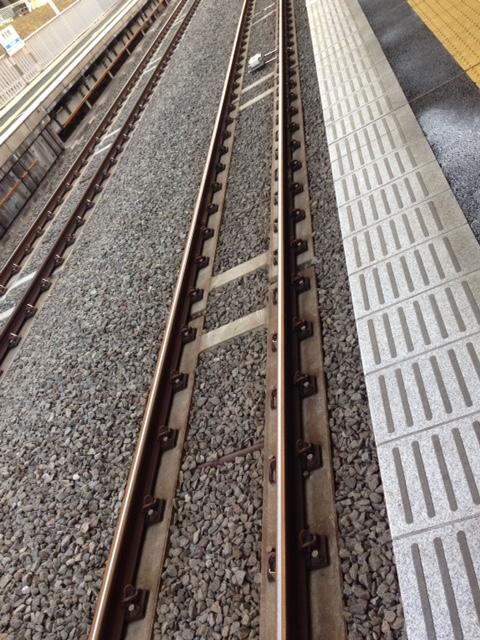 参宮橋駅の不思議な軌道