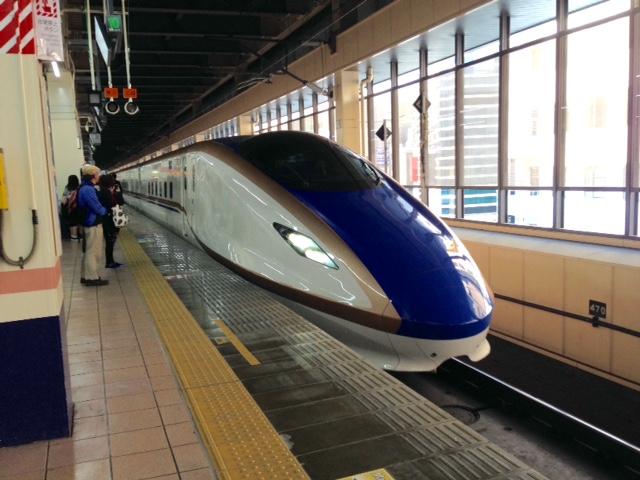 北陸新幹線と並行在来線の旅(はくたか551号)