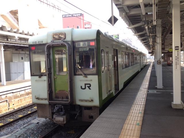 北陸新幹線と並行在来線の旅(飯山まで)